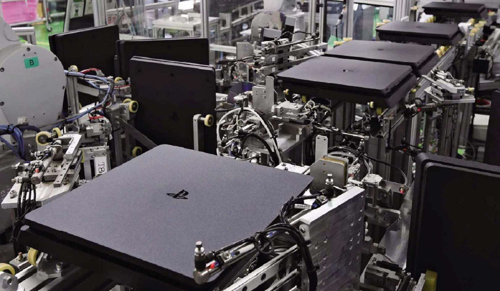 Завод Sony производит одну консоль PS4 каждые 30 секунд